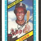 CALIFORNIA ANGELS ROD CAREW 1980 KELLOGGS 3-D SUPER STARS # 60 NM/MT