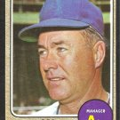 OAKLAND ATHLETICS BOB KENNEDY 1968 TOPPS # 183 VG
