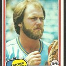 1981 Topps Baseball Card # 237 Milwaukee Brewers Charlie Moore nr mt