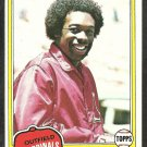 1981 Topps Baseball Card # 230 St Louis Cardinals George Hendrick nr mt