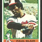 BALTIMORE ORIOLES PAUL BLAIR 1976 TOPPS # 473 EX/EM