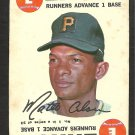 PITTSBURGH PIRATES MATTY ALOU 1968 TOPPS GAME CARD INSERT # 1 good