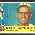 CINCINNATI REDS RAUL SANCHEZ 1960 TOPPS # 311 G