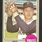 PITTSBURGH PIRATES ROY FACE 1968 TOPPS # 198 EX MT