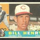 CINCINNATI REDS BILL HENRY 1960 TOPPS # 524 G