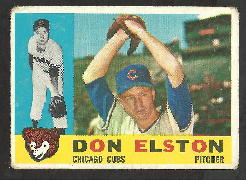 CHICAGO CUBS DON ELSTON 1960 TOPPS # 233 G
