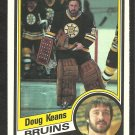 BOSTON BRUINS DOUG KEANS ROOKIE CARD RC 1984 O PEE CHEE OPC # 5