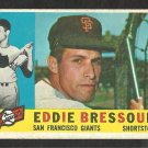 SAN FRANCISCO GIANTS EDDIE BRESSOUD 1960 TOPPS # 253 G