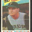 PITTSBURGH PIRATES DANNY MURTAUGH 1960 TOPPS # 223 F