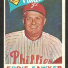 PHILADELPHIA PHILLIES EDDIE SAWYER 1960 TOPPS # 226 G