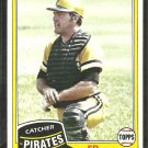 1981 Topps Baseball Card # 246 Pittsburgh Pirates Ed Ott nr mt