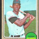 SAN FRANCISCO GIANTS OLLIE BROWN 1968 TOPPS # 223 VG