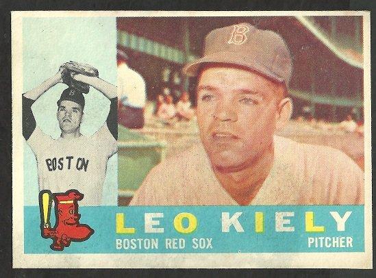 BOSTON RED SOX LEO KIELY 1960 TOPPS # 94