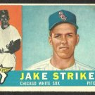 CHICAGO WHITE SOX JAKE STRIKER 1960 TOPPS # 169