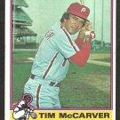 PHILADELPHIA PHILLIES TIM McCARVER 1976 TOPPS # 502