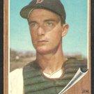 BOSTON RED SOX JIM PAGLIARONI 1962 TOPPS # 81 VG+/EX