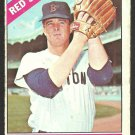 BOSTON RED SOX DENNIS BENNETT 1966 TOPPS # 491 G/VG