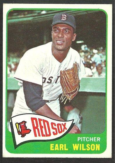 BOSTON RED SOX EARL WILSON 1965 TOPPS # 42 EM+