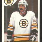 BOSTON BRUINS CHARLIE SIMMER 1985 O PEE CHEE OPC # 87