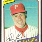 PHILADELPHIA PHILLIES DALLAS GREEN 1980 TOPPS BURGER KING # 1 NR MT