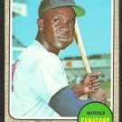 WASHINGTON SENATORS FRED VALENTINE 1968 TOPPS # 248 EX+/EM