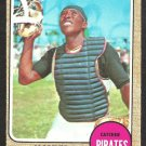 PITTSBURGH PIRATES MANNY SANGUILLEN ROOKIE CARD RC 1968 TOPPS # 251 EX MT