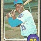 NEW YORK METS CLEON JONES 1968 TOPPS # 254 good