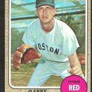 BOSTON RED SOX GARRY ROGGENBURK 1968 TOPPS # 581