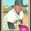 BOSTON RED SOX JERRY STEPHENSON 1968 TOPPS # 519