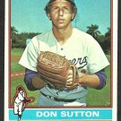 LOS ANGELES DODGERS DON SUTTON 1976 TOPPS # 530 EX