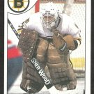 BOSTON BRUINS PETE PEETERS 1985 TOPPS # 75 NR MT