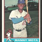 LOS ANGELES DODGERS MANNY MOTA 1976 TOPPS # 548 EX