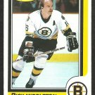 BOSTON BRUINS RICK MIDDLETON 1986 O PEE CHEE OPC # 157 NR MT