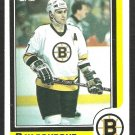 BOSTON BRUINS RAY BOURQUE 1986 TOPPS # 1 NR MT