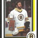BOSTON BRUINS DOUG KEANS 1986 TOPPS # 22 NR MT