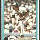 1981 Topps Baseball Card # 262 Baltimore Orioles Sammy Stewart ex/em