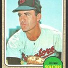 WASHINGTON SENATORS BOB HUMPHREYS 1968 TOPPS # 268 EX/EM