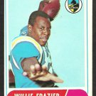 SAN DIEGO CHARGERS WILLIE FRAZIER 1968 TOPPS # 11 VG