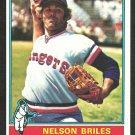 TEXAS RANGERS NELSON BRILES 1976 TOPPS # 569 NR MT