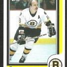BOSTON BRUINS RICK MIDDLETON 1986 TOPPS # 157 NR MT