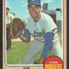 LOS ANGELES DODGERS JIM BREWER 1968 TOPPS # 298 good
