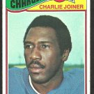 San Diego Chargers Charlie Joiner 1977 Topps Football Card # 167 vg
