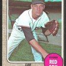 BOSTON RED SOX LEE STANGE 1968 TOPPS # 593 EX/EX MT OC