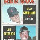 BOSTON RED SOX ROOKIE STARS CONIGLIARO ALVARADO 1970 TOPPS # 317 NM