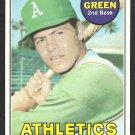 OAKLAND A's ATHLETICS DICK GREEN 1969 TOPPS # 515 EX/EM OC