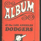 LOS ANGELES DODGERS 1969 TOPPS STAMP ALBUM W/5 STAMPS DON SUTTON WILLIE DAVIS  +