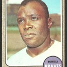 ATLANTA BRAVES SANDY VALDESPINO 1968 TOPPS # 304 good