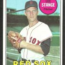 BOSTON RED SOX LEE STANGE 1969 TOPPS # 148 EX/EX MT