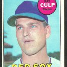 BOSTON RED SOX RAY CULP 1969 TOPPS # 391 EX