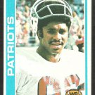 NEW ENGLAND PATRIOTS STANLEY MORGAN ROOKIE CARD RC 1978 TOPPS # 361 VG/EX